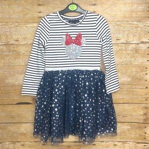 Free 🎁 W/ Purch. Disney Minnie Tulle Sequin Dress
